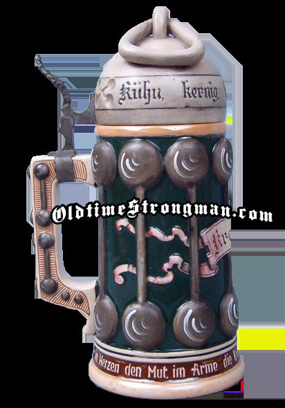 Strongman Beer Stein