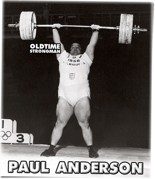 Paul Anderson's Gold Medal Winning lift at the 1956 Olympic Games
