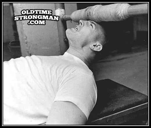 Rick Redman Neck Training