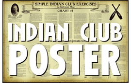 Indian Club Poster