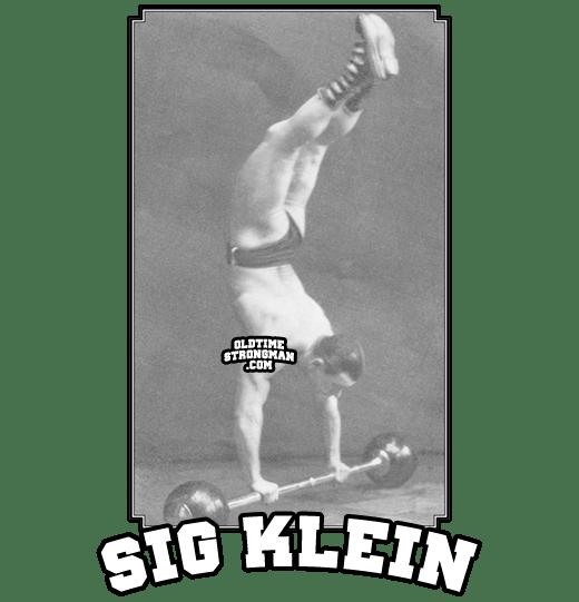 Sig Klein's Greatest Handbalancing Feat