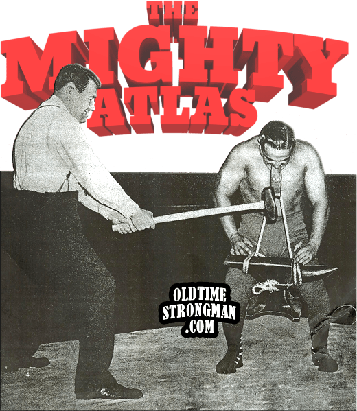 The Mighty Atlas - Anvil Neck Strength