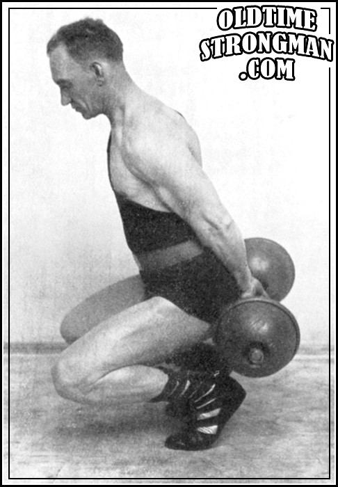 Walter Donald Demonstrates the Hack Squat
