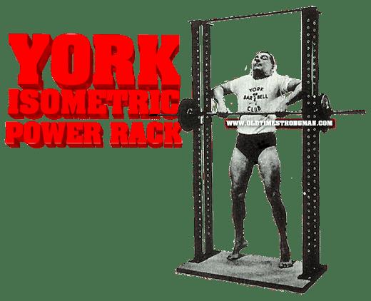 york isometric power rack www