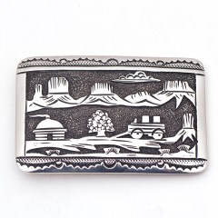 Tommy Singer Storyteller buckle