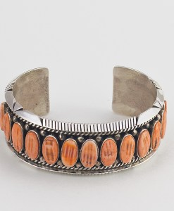 M Spencer Spiny Oyster Bracelet