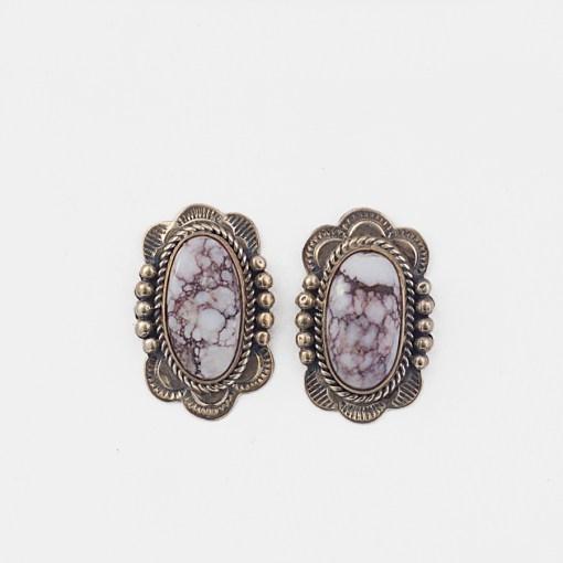 Melvin Francis Magnesite Earrings