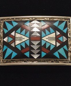Don and Viola Eriacho Western Buckle
