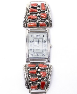 Navajo Coral Flexible Watch