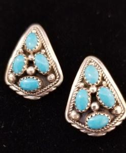 Navajo cluster earring