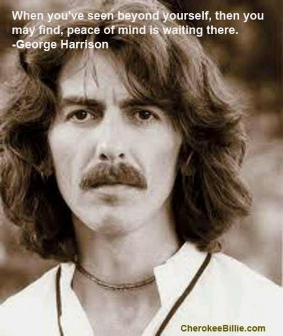 George Harrison. Foto: Pinterest