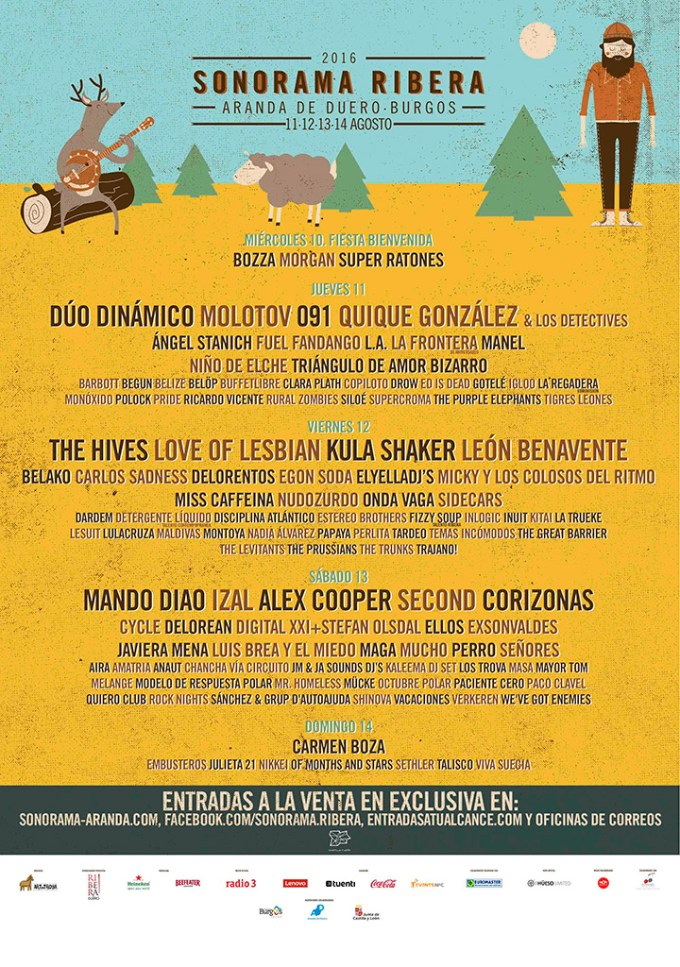 Cartel Sonorama 2016