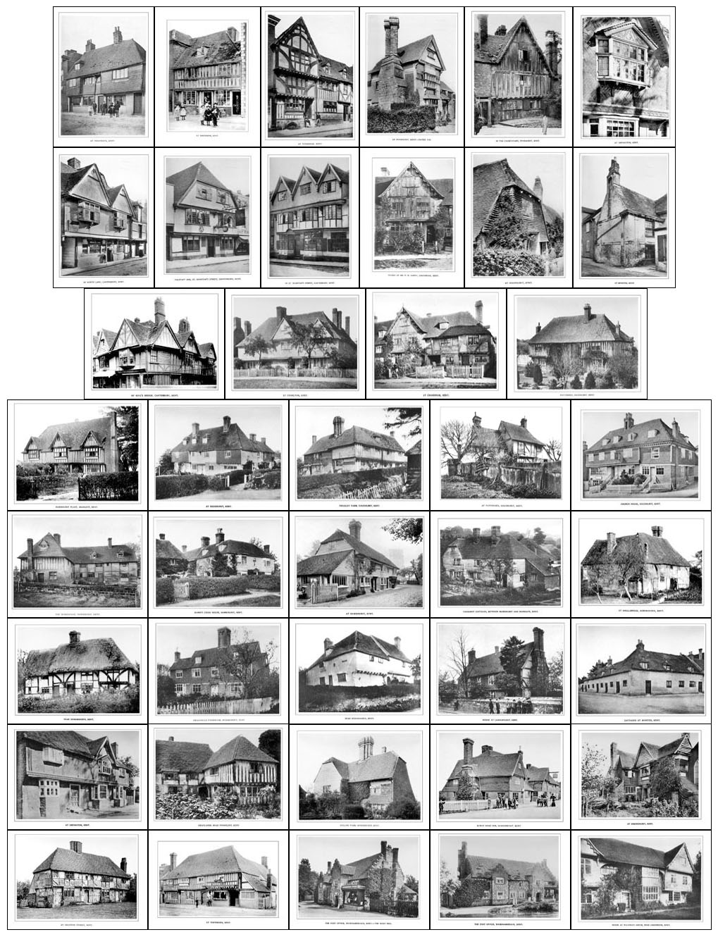 Cottages Amp Farmhouses Of Kent In 1900