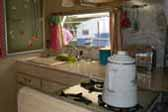 1968 Shasta Loflyte Trailer With Original Whitewashed Cabinets and Woodwork