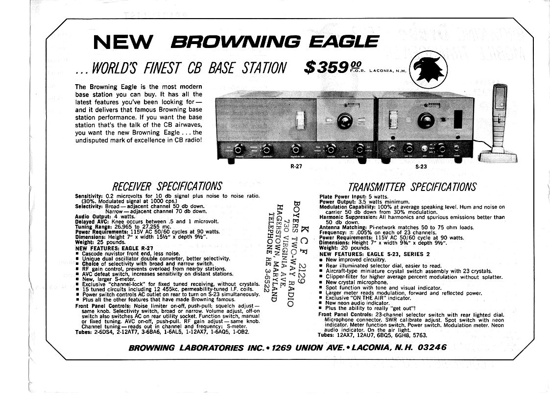 Browning Eagle R27 S23 Series 2