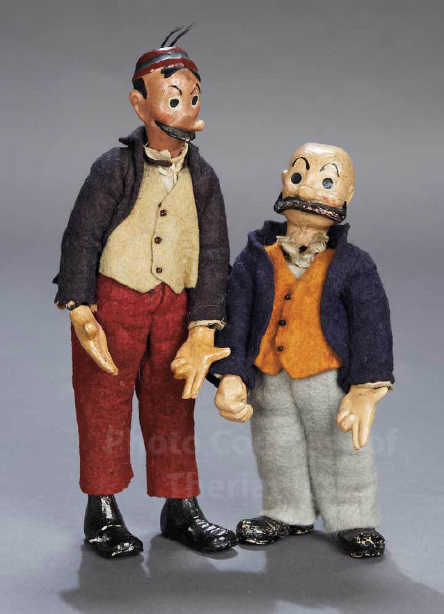 maggie and jiggs cartoon characters