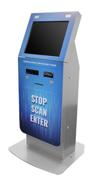 Olea California Cyber-Security Malware Scanning Kiosk