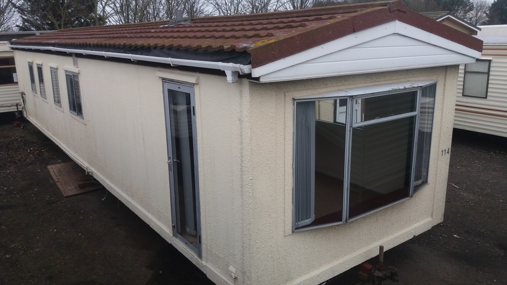 42 x 10 Roughcast Mobile Home Image