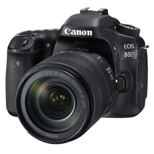 Canon EOS 80D Side