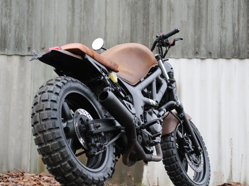 Oleck Custom Motorbike Archive SV 650 Scrambler