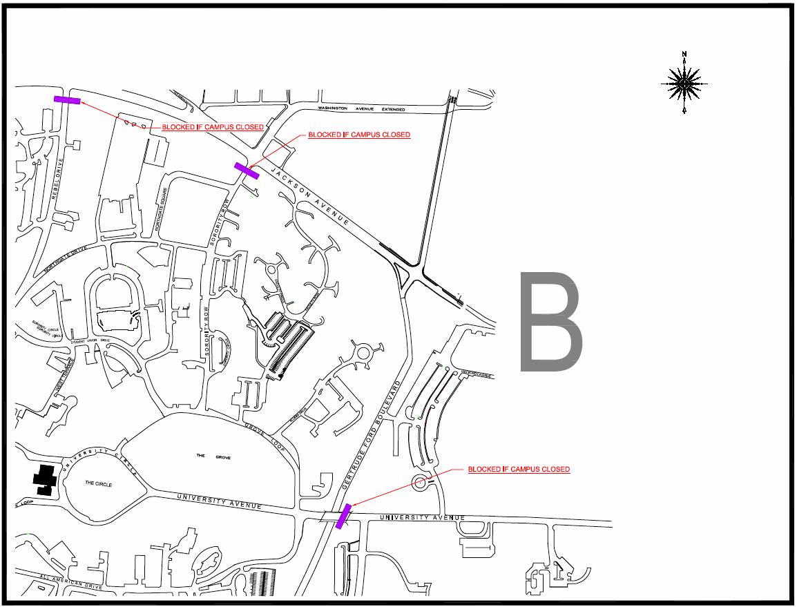 Emergency Information Evacuation Routes