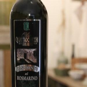 Condimento al rosmarino a base di olio extra vergine di oliva biologico 250ml