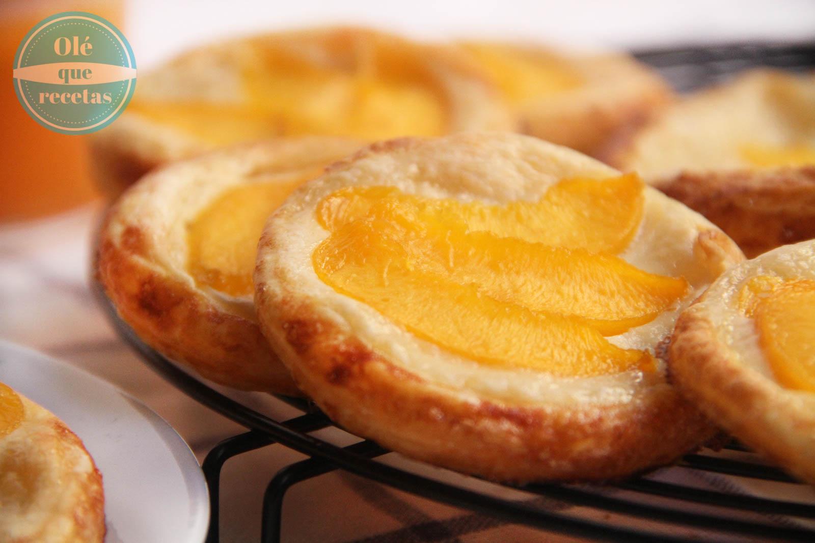 Pastelitos De Hojaldre Con Crema De Mascarpone Y Frutas Olé Que Recetas