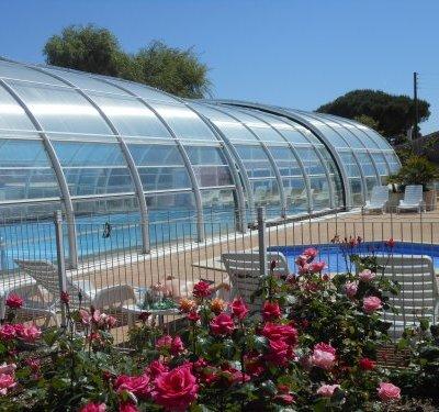 maison vacances piscine chauffée