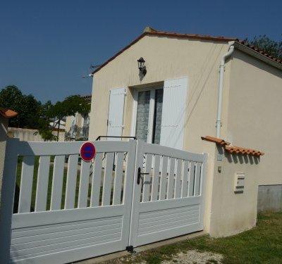 Petite maison individuelle de vacances