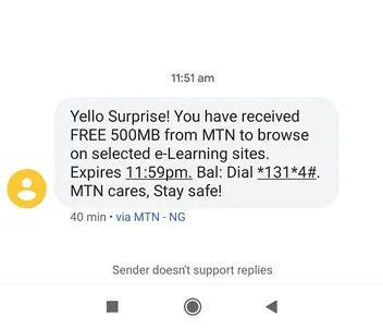 How to Get 500MB Daily on MTN Network and Browse With It