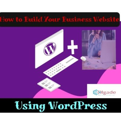 Create Business Website Blog WordPress