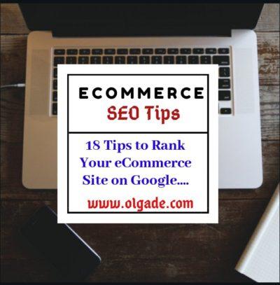 Ecommerce SEO Tips 2019