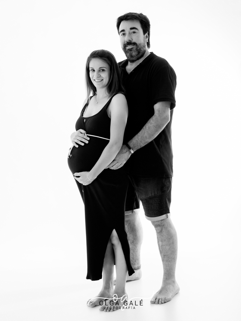 Sesión de embarazo en Alagón