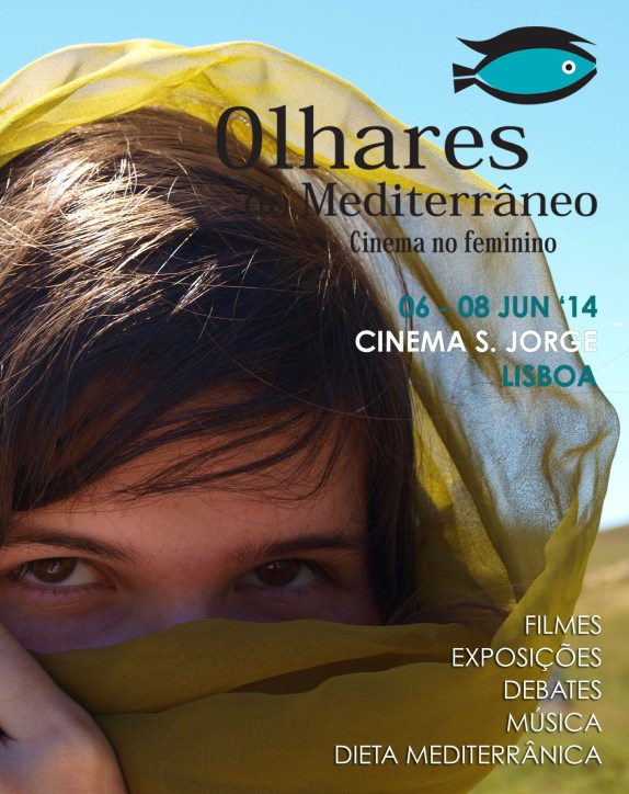 Cartaz Olhares do Mediterrâneo 2014