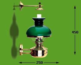 Libertylamp kap groen elektrisch 17