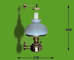 Victorylamp kap opaal elektrisch 17