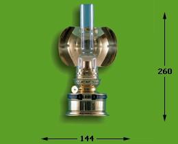 Pantrylamp messing elektrisch 17