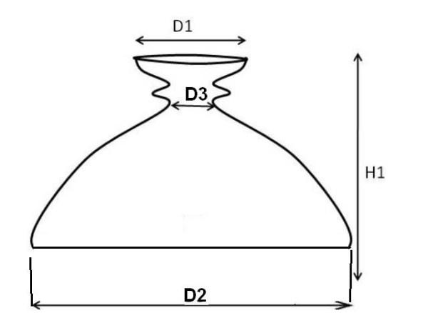 kap rochester opaal 320 mm 17