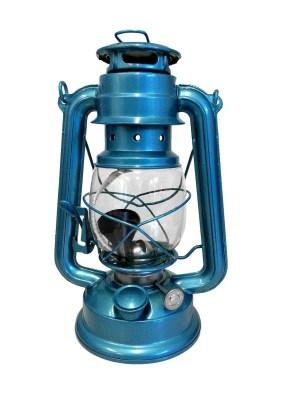18670B stormlamp 25 cm lichtblauw