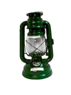 Stormlamp 25 cm kleur groen