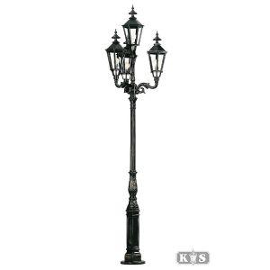 Tuinlamp Brussel, zwart-0