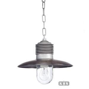 Kettinglamp Ampere, aluminium/koper-0