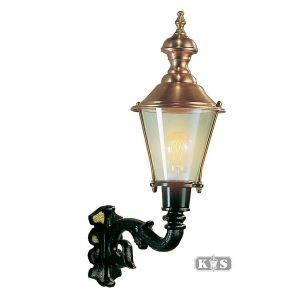Buitenlamp Hoorn S, groen/koper-0
