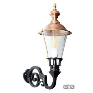 Buitenlamp Amstel M, zwart/koper-0