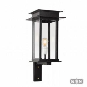 Muurlamp Praag M II, zwart