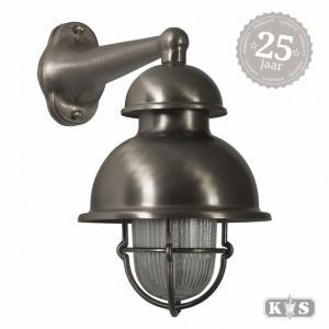 Muurlamp Wharf nikkel, nikkel-0