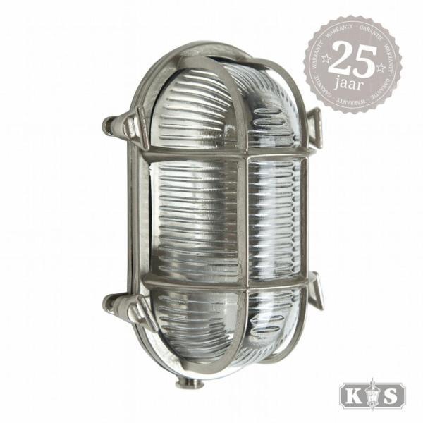 Buitenlamp Nautic 3 nikkel, nikkel 15