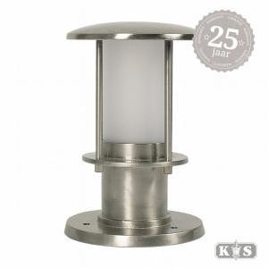 Tuinlamp Resident 3 nikkel, nikkel