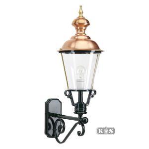 Buitenlamp Baarn, groen/koper-0