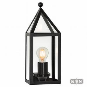 Wandlamp Muiden, zwart-0